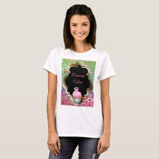 Groene Roze van het Damast van de Bakkerij van T Shirt