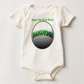 Groene Shankapotomus Baby Shirt