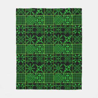 Groene Sleeves en meer Fleece Deken