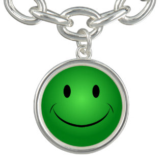 Groene Smiley Armbanden