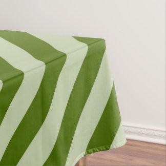 Groene Strepen Tafelkleed