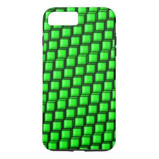 Groene Taaie iPhone 7 van Vierkanten plus Hoesje