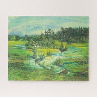 groene vallei legpuzzel