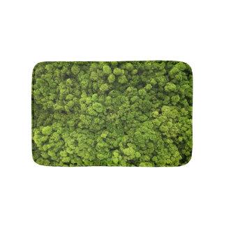 Groene van het Mos Badmat Als achtergrond