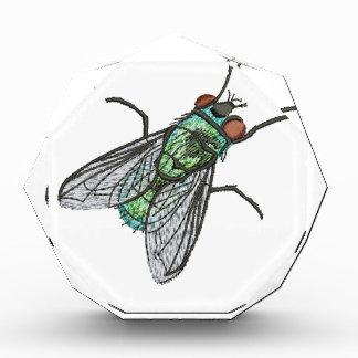 groene vlieg - imitatie van borduurwerk prijs