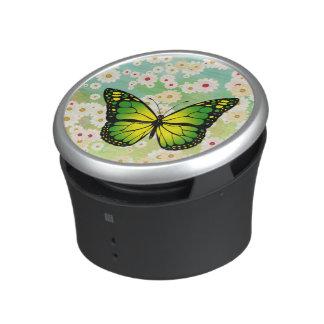 Groene vlinder bluetooth speaker