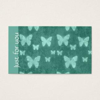 Groene Vlinder | van de Jade van Girly de Kaarten Visitekaartjes