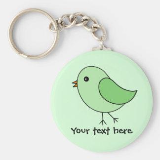 Groene Vogel Sleutelhanger