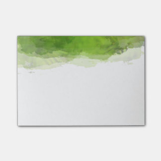 Groene Waterverf Post-it® Notes