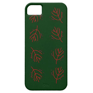 Groene zeewieren barely there iPhone 5 hoesje