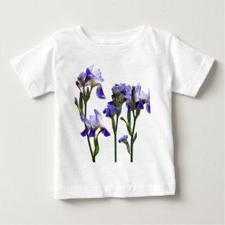 Groep Paarse Irissen Baby T Shirts
