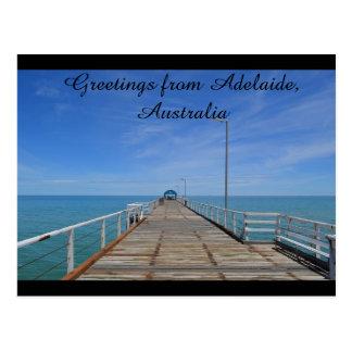 Groeten van Adelaide Australië Briefkaart