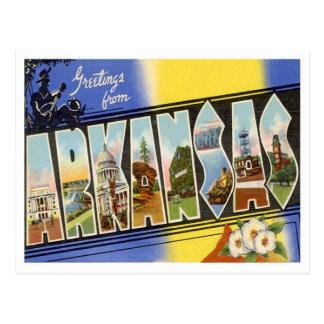 Groeten van Arkansas Briefkaart