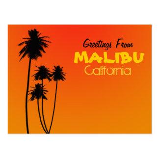 Groeten van Briefkaart Malibu