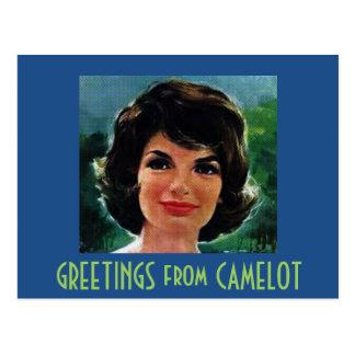 GROETEN van CAMELOT Briefkaart