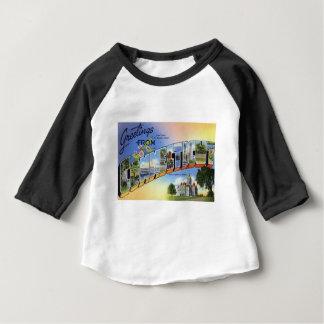Groeten van Connecticut Baby T Shirts