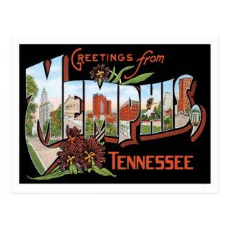Groeten van de Stad van Memphis Tennessee de V.S. Briefkaart