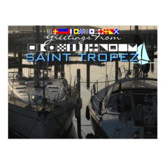 Groeten van Heilige Tropez Briefkaart