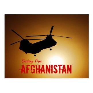 Groeten van het Briefkaart van Afghanistan