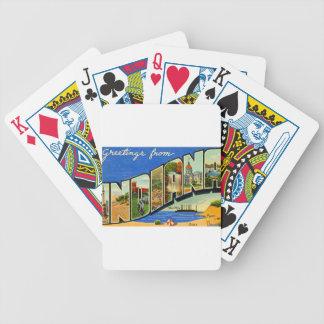 Groeten van Indiana Poker Kaarten