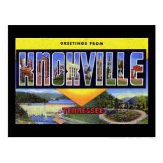 Groeten van Knoxville Tennessee Briefkaart
