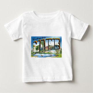 Groeten van Maine! Baby T Shirts