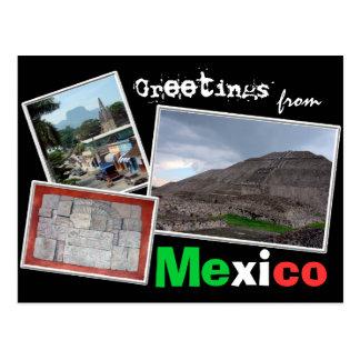 Groeten van Mexico Briefkaart