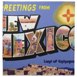 Groeten van New Mexico Servet