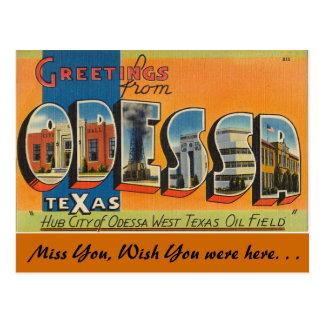 Groeten van Odessa Briefkaart