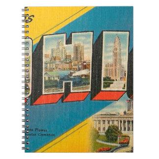 Groeten van Ohio Notitieboek