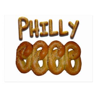 Groeten van Philly Briefkaart