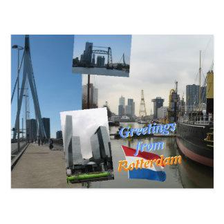 Groeten van Rotterdam Briefkaart