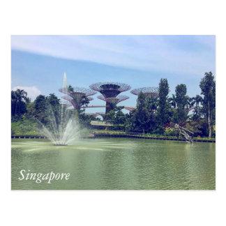 Groeten van Singapore Briefkaart