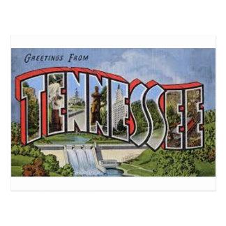 Groeten van Tennessee Briefkaart