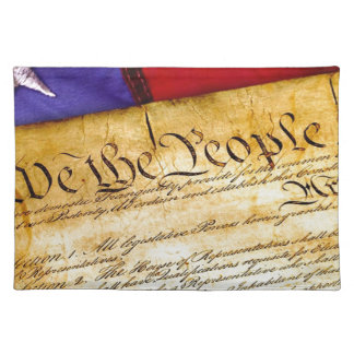 Grondwet vierde van de Onafhankelijkheid van Juli Placemat