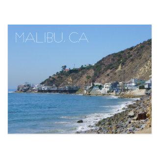 Groot Briefkaart Malibu!