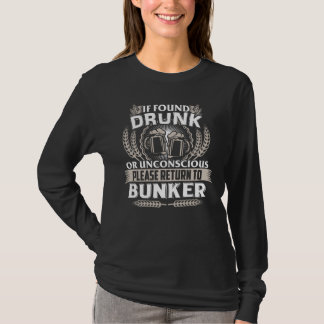 Groot de T-shirt van de BUNKER te zijn