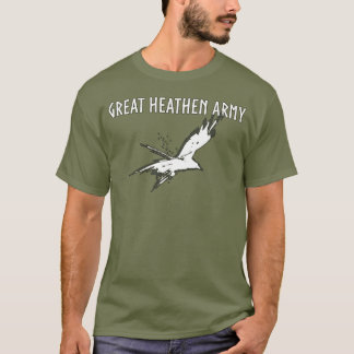 Groot Heidens Leger | Vliegende Raaf T Shirt