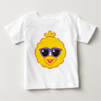 Groot het Glimlachen van de Vogel Gezicht met Baby T Shirts