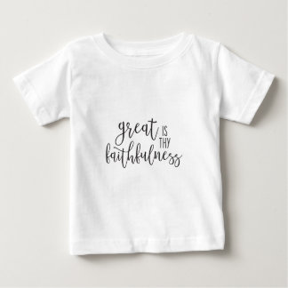 Groot is Thy Trouw Baby T Shirts