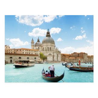 Groot Kanaal, het Briefkaart van Venetië