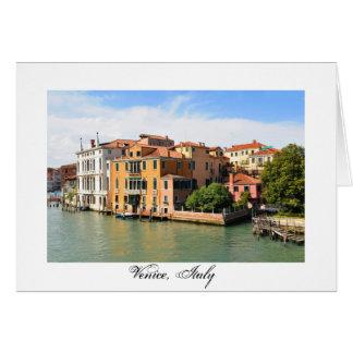 Groot Kanaal, Venetië, Italië Wenskaart