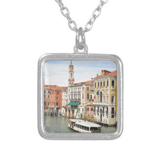 Groot Kanaal, Venetië, Italië Zilver Vergulden Ketting