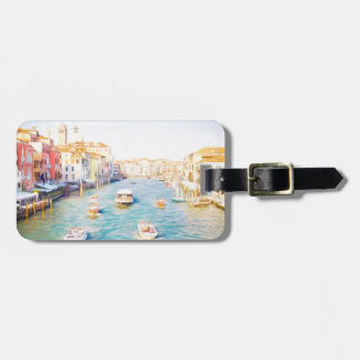 Groot Kanaal Venezia Kofferlabel