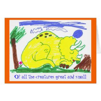 Groot & Klein tegen Oktober Briefkaarten 0
