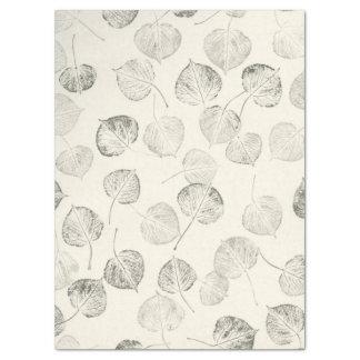 Groot Print van het Bevende Patroon van het Blad Tissuepapier