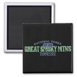 Groot Rokerig Nationaal Park Mtns Magneet