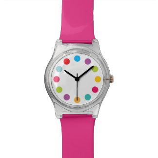 Groot Stip van Horloge van de Regenboog van de Kle