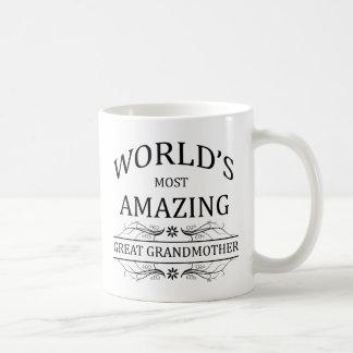 Groot Verbazen van de wereld - grootmoeder Koffiemok