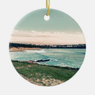 Groot Western Strand Newquay Rond Keramisch Ornament